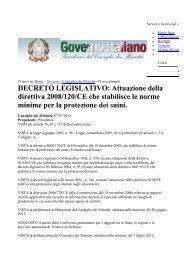 decreto protezione suini 2011 - Tom e Jerry