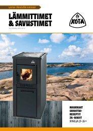 Kota lämmittimet ja savustimet - Narvi Oy
