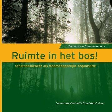 Staatsbosbeheer als maatschappelijke organisatie - Bomengids.nl
