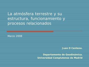 Sistema Climático - Universidad Complutense de Madrid