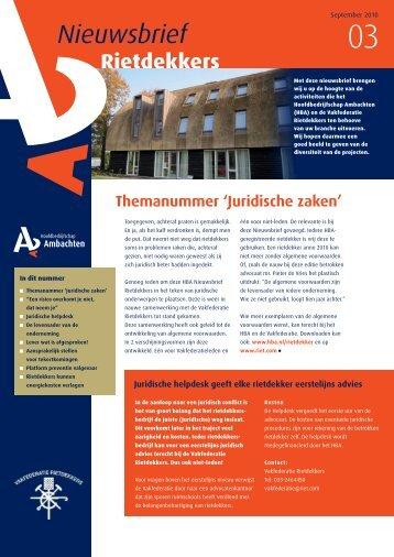 Nieuwsbrief Rietdekkers - sept 2010.pdf - Hba