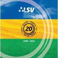 LSV_monografija_1990-2010.pdf - Liga socijaldemokrata Vojvodine