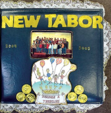 Lodge 17, New Tabor - 2004-05 Scrapbook