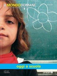 Il mondodomani. Oggi a scuola - Unicef