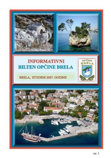 Bilten Općine Brela 2007. - Općina Brela