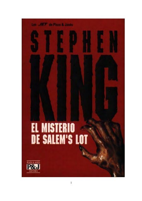 823 K52m El Misterio De Salems Lot