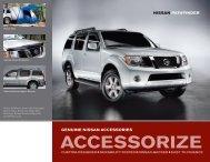 Nissan Pathfinder | Accessories Brochure | Nissan USA