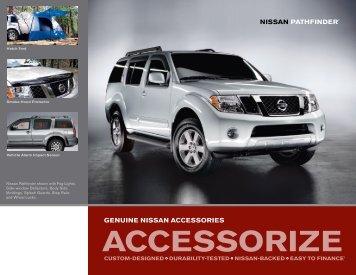 Nissan Pathfinder | Accessories Brochure | Nissan USA & Nissan XTERRA | Accessories Brochure | Nissan USA