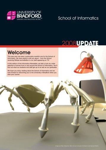 Informatics Newsletter Sp#1864D - School of Computing, Informatics ...