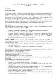 presentazione dei risultati - Istituto Comprensivo Alto Orvietano