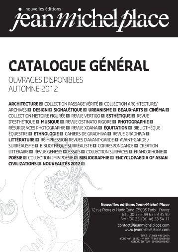 Téléchargez le catalogue complet des nouvelles éditions Jean ...