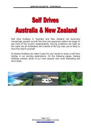 Self drive holidays in Australia and New Zealand are ... - Antipodes