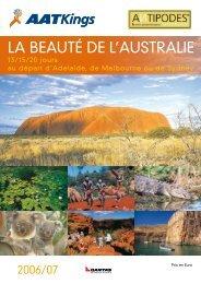 Les Beautés de l' Australie - Antipodes