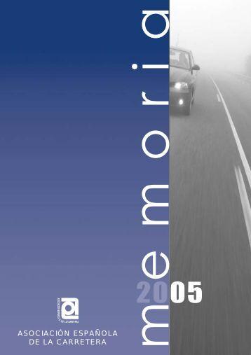 Abrir memoria - Asociación Española de la Carretera