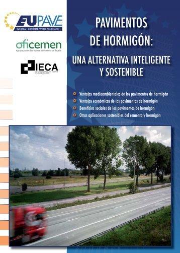 PAVIMENTOS DE HORMIGÓN: - Asociación Española de la Carretera