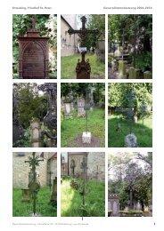 Straubing Historischer Friedhof – Metallrestaurierung ... - HJ Bleier