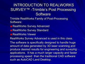 Introduction to RWS