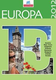 Scarica il catalogo in formato PDF - Travel Operator Book