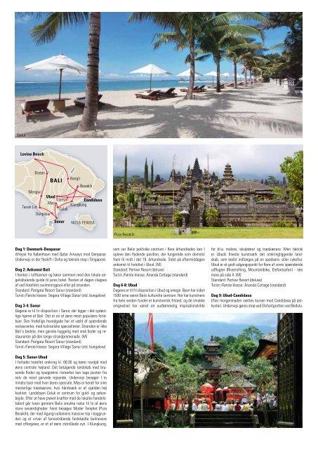 Klassisk Rundrejse på Bali - Travel2Thailand