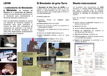 Tríptico - Instituto de Robotica - Universitat de València