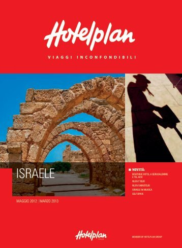 ISRAELE - Travel Operator Book