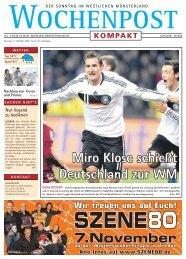 Miro Klose schießt Deutschland zur WM