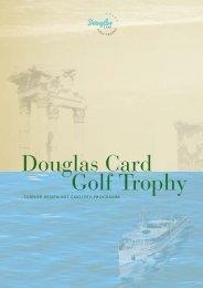 Douglas Card Golf Trophy - GMK Reisen