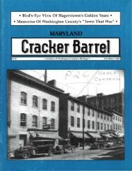 Maryland Cracker Barrel, February/March 2005, Volume 33, Number ...