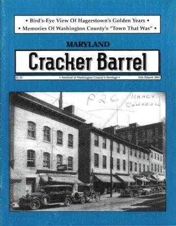 Maryland Cracker Barrel, February/March 2005, Volume 33, Number ...