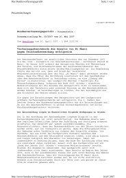 Pressemitteilungen Bundesverfassungsgericht - Pressestelle ...