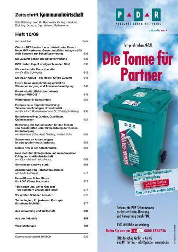 Zeitschrift Heft 10/09