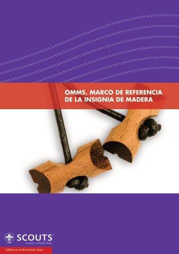 Documento - Marco de Referencia de la Insignia de Madera
