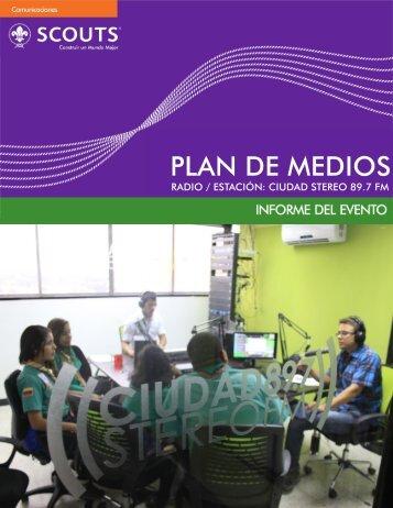PLAN DE MEDIOS - Asociación de Scouts de Venezuela