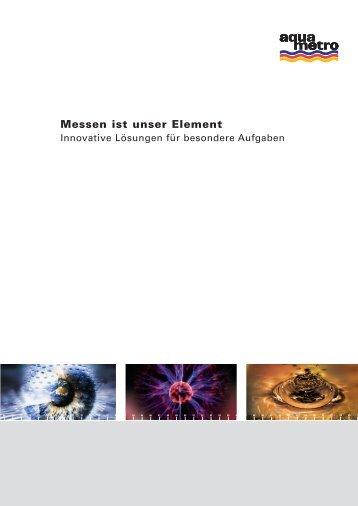 Messen ist unser Element - Aquametro AG