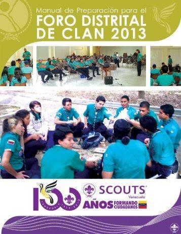 Foro de Clan 2013.pdf - Scouts de Venezuela