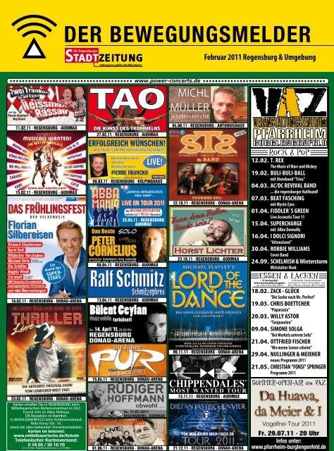 Februar 2011 Regensburg & Umgebung - Regensburger Stadtzeitung
