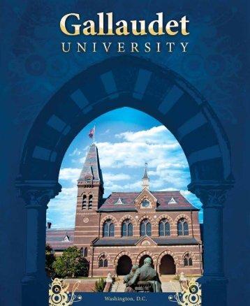 Gallaudet 29 - Undergraduate Admissions - Gallaudet University