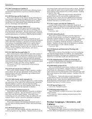 Foreign Languages, Literatures, and Cultures - Undergraduate ...