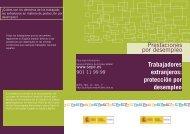 Prestaciones por desempleo Trabajadores extranjeros: protección ...