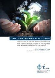 sense tecnologia no hi ha creixement - Asociación Española de ...