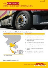 Download our ASIA CONNECT Brochure - DHL | Malaysia