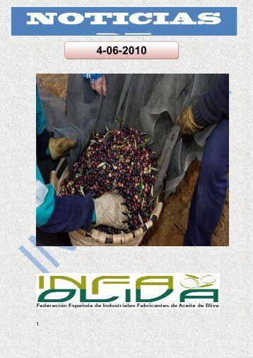 NOTICIAS DE OLIVAR - Aceites y Olivos