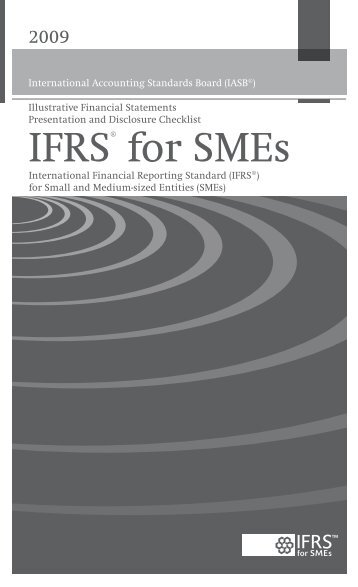 IFRS for SMEs Implementation Guidance 2009.fm