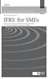 IFRS for SMEs Basis for Conclusions.fm - Consejo General de ...