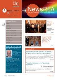 News REA nº13(formato pdf) - Consejo General de Colegios de ...