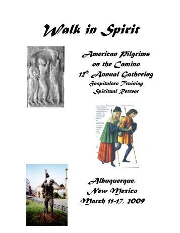 Walk in Spirit - American Pilgrims on the Camino