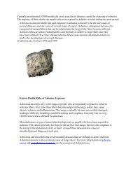 How to remove asbestos