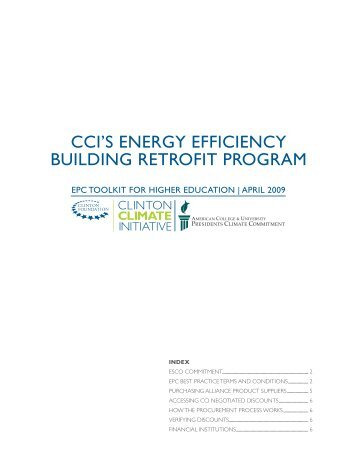 cci's energy efficiency building retrofit program - LACCD Builds Green