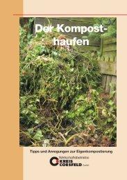 Komposthaufen - Wirtschaftsbetriebe Kreis Coesfeld