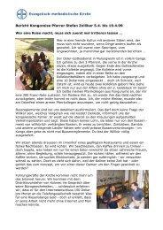 Bericht Kongoreise Stefan Zolliker April 2009 - EMK Thun ...